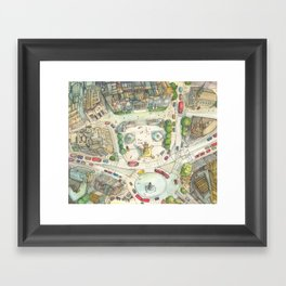 Trafalgar Square Framed Art Print