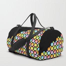 Rainbow Polka Dots Horizon Duffle Bag