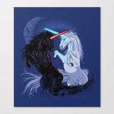 Retold with Unicorns Canvas Print