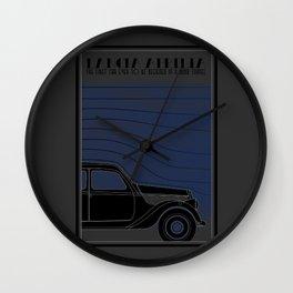 Lancia Aprilia Wall Clock
