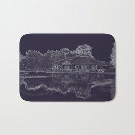 Lake House Etching Bath Mat