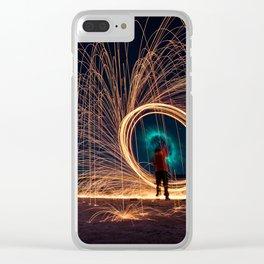 Star portal Clear iPhone Case