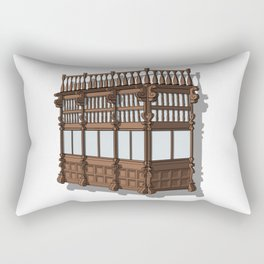 Colonial Balcony - Balcon colonial Rectangular Pillow