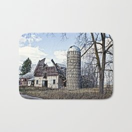 Wisconsin Old Barn 3 Bath Mat