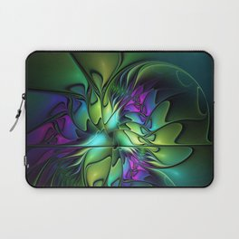 Colorful And Abstract Fractal Fantasy Laptop Sleeve