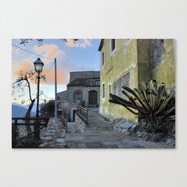 URBAN LANDSCAPE, ITALY Canvas Print