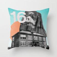 Sixteen Throw Pillow
