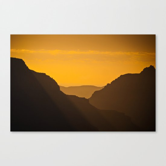 Grand Canyon Mystique Canvas Print