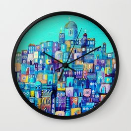 Five Churches Wall Clock