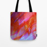 watercolour Tote Bags featuring watercolour by Lara Gurney