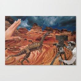 Jurassic Walt  Canvas Print