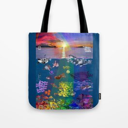 Canticle of the Sea Tote Bag