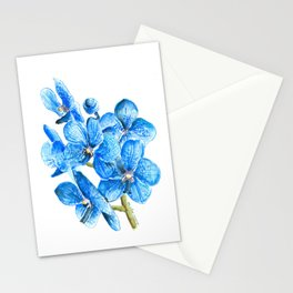 Flowers. Orchid Stationery Cards