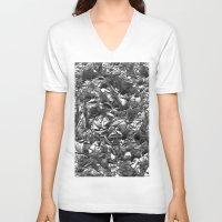 heavy metal V-neck T-shirts featuring Heavy Metal Crush by BruceStanfieldArtist.DarkSide