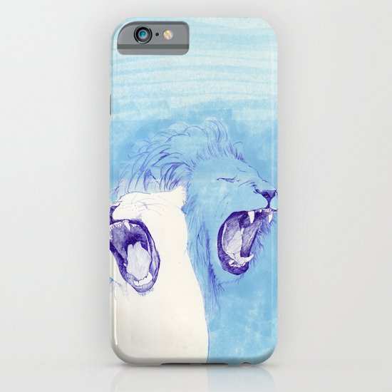 Two Lions iPhone & iPod Case