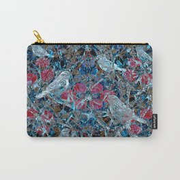Little Birds and Roses Carry-All Pouch