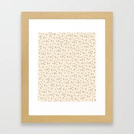 Hosomaki salmon fest Framed Art Print