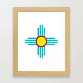 Zia Sun Framed Art Print