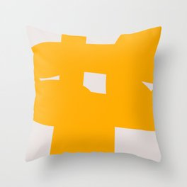 Abstract Form 6B Throw Pillow