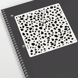 Polka Dots Dalmatian Spots Sticker
