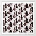Chess Pawns Pattern by borianagiormova