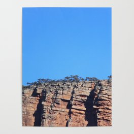 Outback Rocky Mountains Poster