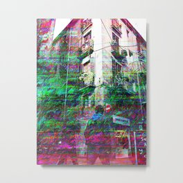 Similar to transit through non specific space, go. Metal Print