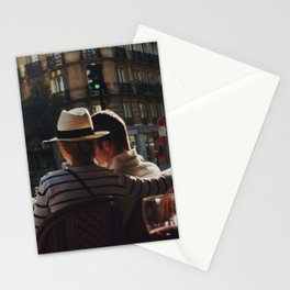 Lovers in Paris Stationery Cards