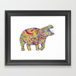 Hippo: Spirit of Confidence Framed Art Print