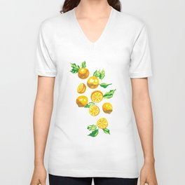 When life gives you lemons... Unisex V-Neck