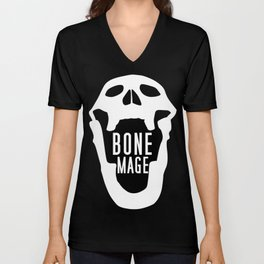 Bone Mage Skull  Unisex V-Neck