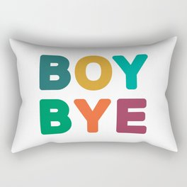 Boy Bye Rectangular Pillow