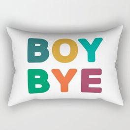 Boy Bye Rectangular Pillow