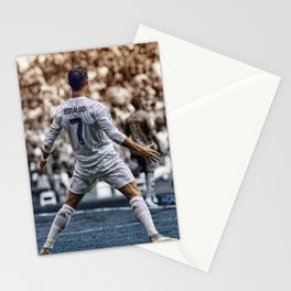 cr7 clebration Stationery Cards