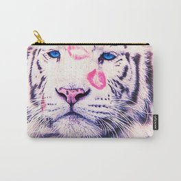Valentine Tiger Kisses Carry-All Pouch