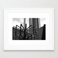 metal Framed Art Prints featuring Metal by ephemerality