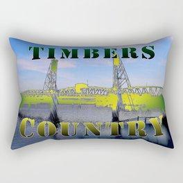Timbers Country Rectangular Pillow
