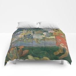 Paul Gauguin - Ia Orana Maria (Hail Mary) (1891) Comforters