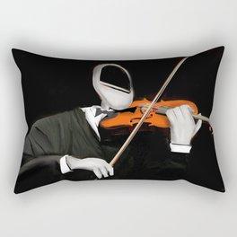 Corky the Violinist Rectangular Pillow