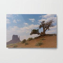 Monument Tree Metal Print