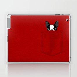 Pocket Boston Terrier Laptop & iPad Skin