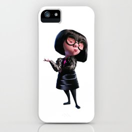 edna mode incredibles iPhone Case