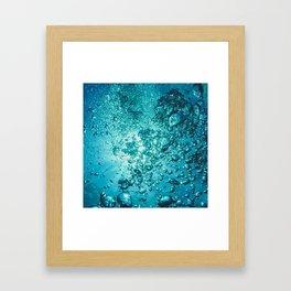 Tropical Underwater Framed Art Print
