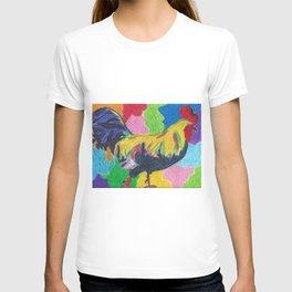 Rainbow Cluck T-shirt