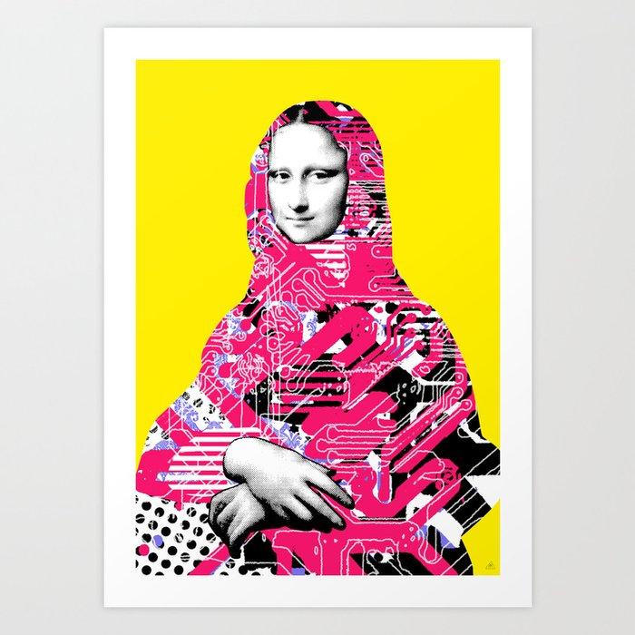 Mona Lisa Platina 6 Art Print