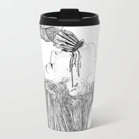 asc 669 - L'esagerata (My name is Excess) Metal Travel Mug