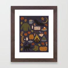 Autumn Nights Framed Art Print