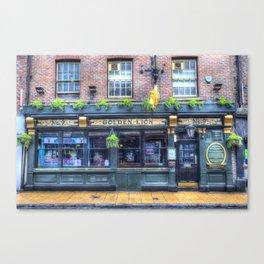 The Golden Lion Pub York Canvas Print
