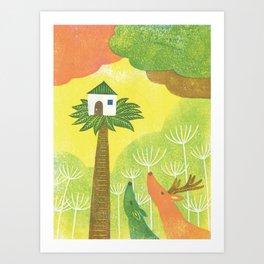 Our Neighbor Art Print