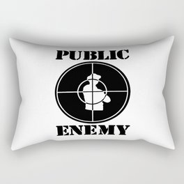 Public Enemy Rectangular Pillow